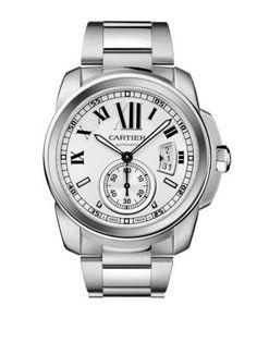 Cartier Calibre de Cartier Stainless Steel Automatic Watch