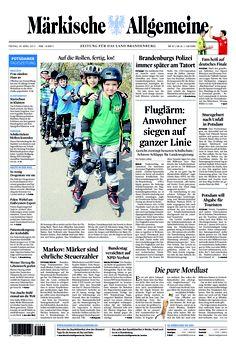Freitag, 26. April 2013