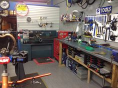 We just moved our lathe into the workshop, next is a milling machine. We do manufacture a few small things for bikes.