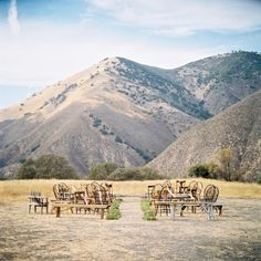 #mountains, #backdrop  Photography: B Wright Photography - bwrightphoto.com Design, Planning, Florals + Invitations: GATHER Events - gatherevents.com  View entire slideshow: Ceremony Backdrops We Love on http://www.stylemepretty.com/collection/202/
