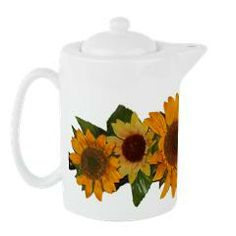 Sunflowerteapot> Lisa Williams Art