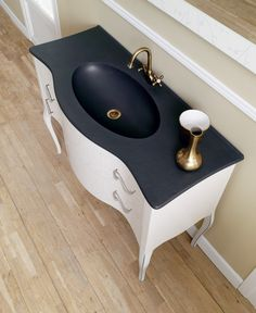 Black and white. Fiora Touch Your Bathroom