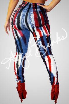 Tribe Jeans (Red) | Shop Boutique on Angel Brinks
