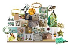 """""""Earth Tones"""" by crystalglowdesign ❤ liked on Polyvore featuring art"""