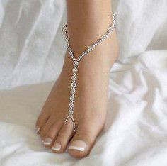 Cute and different toe ring