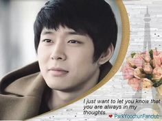 You're Always in my Thoughts Yoochun ❤️ JYJ Hearts