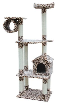 Kitty Mansions Baltimore Cat Tree, Leopard -- Quickly view this special  product, click the image (This is an amazon affiliate link. I may earn commission from it)