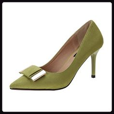 fereshte ,  Damen spitz , - NO.657 Green - Größe: 35.5 - Damen pumps (*Partner-Link)