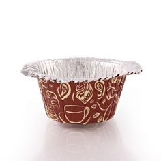 Ruffle Coffee Design Baking Cups/Case of 576