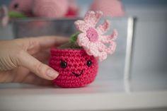 Cute little plant - free pattern
