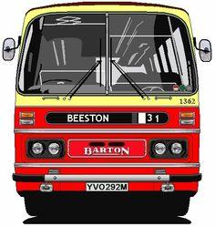 Barton Transport Duple Bedford YRT YVO292M