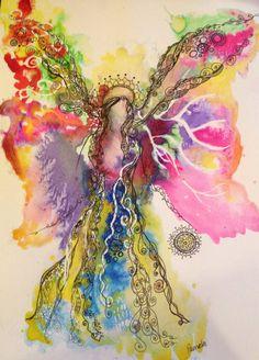 Angel Blessings by Pamela Jordan on Etsy