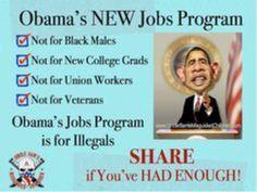 Obama's new jobs program... jobs for illegals