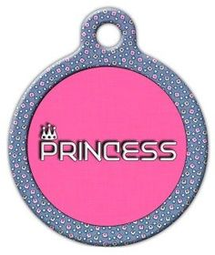 Dog Tag Art Custom Pet ID Tag for Dogs Princess Large 125 inch >>> Find out more about the great product at the image link. (This is an affiliate link) Dog Tags Pet, Designer Dog Clothes, Kittens And Puppies, Pet Id, Cat Collars, Tag Art, Pet Accessories, Dog Care, Dog Design