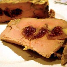 Terrine de foie gras aux figues sèches