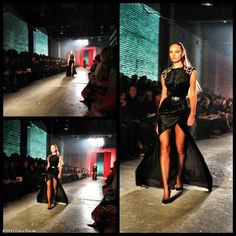 The gorgeous Candice Swanepoel in one of my favorite looks at JasonWu. #NYFW