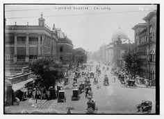 European+Quarter,+Calcutta,+India+-+1920s