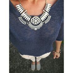 Statement necklace, white necklace, jewelry, jewelryshop, Inspiration  www.ninojewelry.hu