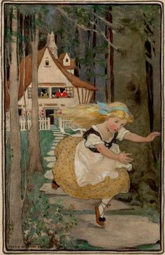 Goldilocks, Jessie Willcox Smith.