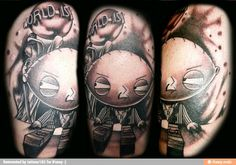 Stewie tattoo