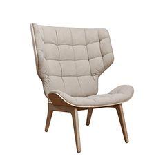 CASANOVA Møbler — Norr11 - Mammoth Lænestol Fluffy - beige