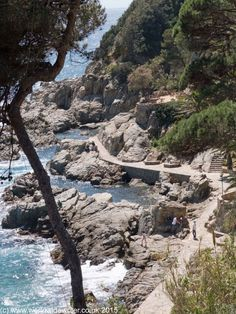 Coastal Path, Lloret de Mar - http://www.worldwidewriter.co.uk/2016/01/2015-travel-and-pictures.html