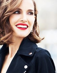 Natalie Portman for her upcoming campaign for Rouge Dior.