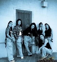 "MUA Idea for the collection: The cholas in the 90's indie movie ""Mi Vida Loca"" about female gang members in Echo Park (LA)."