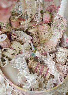 Ribbon Collection, gorgeous~❥ | Sew Sweet ♥