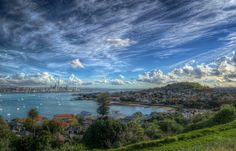 Auckland City as seen from North Head, Devonport Places Around The World, Oh The Places You'll Go, Places To Travel, Around The Worlds, Auckland New Zealand, Hdr Photography, Stunning Photography, Travel Alone, Amazing Nature