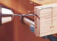 How to Drill a Pocket Hole (the old-fashioned way)