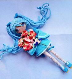 Amigurumi Anime Hatsune Free Pattern – Free Amigurumi Crochet Bag Tutorials, Crochet Dolls Free Patterns, Crochet For Beginners, Amigurumi Patterns, Doll Patterns, Crochet Projects, Crochet Pony, Crochet Doll Clothes, Amigurumi Doll