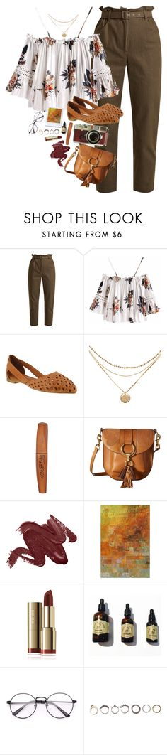 """cinnamon spice"" by mereonir ❤ liked on Polyvore featuring Isa Arfen, Spring Step, Leica, Rimmel, Frye, Kohler and Iosselliani"