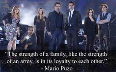 """Mario Puzo  ~~ Season 4, Episode 13 """"Bloodline"""""""