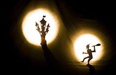 teatro de sombras marionetas