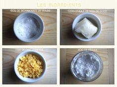 Faire son déodorant naturel ? 5 minutes, un peu d'huile de noix de coco, de la fécule, du bicarbonate de soude et quelques gouttes d'huiles essentielles !
