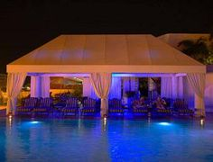 Poolside Cabana by Austin American Awning