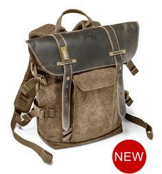 レザー小型バックパック | National Geographic Bags