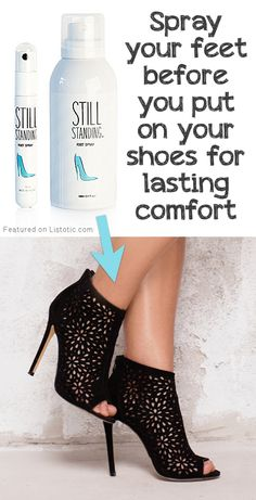 #4. Still Standing Spray (prevents high heel discomfort!) | 8 Brilliant Products That Will Make Wearing High Heels Actually Bearable