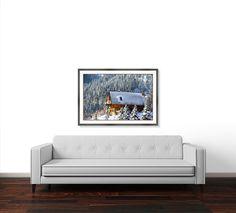 Mountain Cabin Framed Art