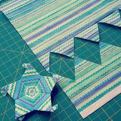 Bildergebnis für hexagon piecing bag