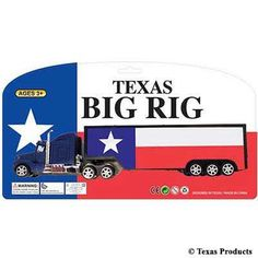 Texas Products Big Rig Truck Toy