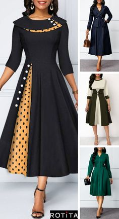 Womens Fashion - fallfashion,falldresses- hours live chat service, We are available to chat now. Latest African Fashion Dresses, African Dresses For Women, African Print Fashion, Women's Fashion Dresses, Dress Outfits, Fashion Styles, Sleeves Designs For Dresses, Kurti Designs Party Wear, Indian Designer Outfits