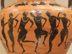 Black Figure, Flute, Roman, Dancer, Scene, Metropolitan Museum, Attic, Search, Collection