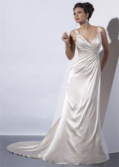 Old Hollywood wedding dress