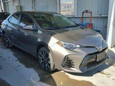 Salvage 2017 Toyota Corolla Le Sedan For Sale   Flood Title