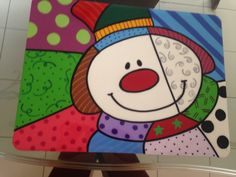 Arte Country, Pintura Country, Mini Canvas, Art Plastique, Painting On Wood, Art For Kids, Pop Art, Projects To Try, Christmas Decorations
