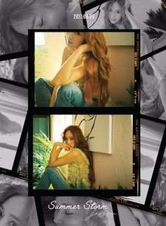 Jessica Jung released teaser pictures for her 3rd mini album 'My Decade'