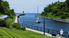 Lake Michigan in Charlevoix, Mich.