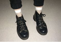 Docs and Socks: The Vintage Church boot, shared by katyxiao.